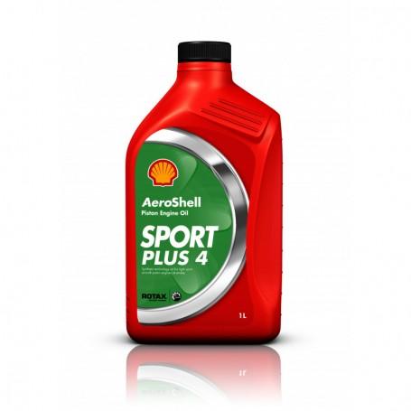 AEROSHELL SPORT PLUS 4 pour moteur ROTAX - Bison de 1 l